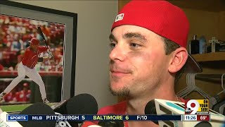 Historic night for the Cincinnati Reds and Scooter Gennett