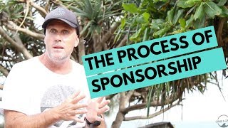 The process of Getting Sponsored.