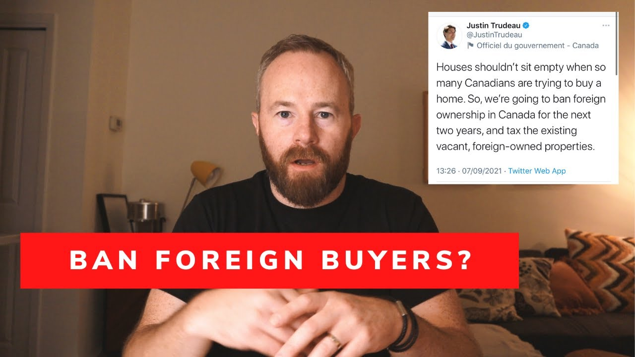 Canada Bans Foreign Buyers – Should Ireland do the Same – Housing Crisis