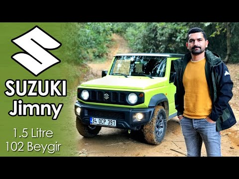 Suzuki Jimny 1.5 Litre 102 Beygir Test Sürüşü