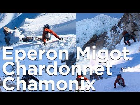 Eperon Migot Aiguille du Chardonnet Chamonix Mont-Blanc montagne alpinisme