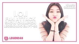 IOI no Show Champion Fan Attack Ep 198 [Legendado PT-BR]