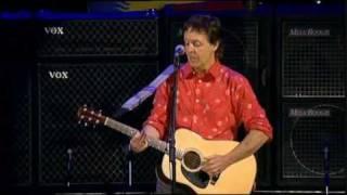 Paul McCartney - Blackbird (Live)