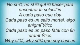 Luz Casal - A Cada Paso Lyrics
