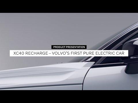 The Volvo XC40 Recharge: Walkaround