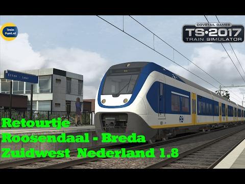 Retourtje Roosendaal - Breda | Zuidwest Nederland 1.8 | Train simulator 2017