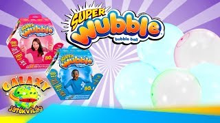 Super Wubble Bubi Labda Kicsomi - Glowubble Teszt A Szabadban
