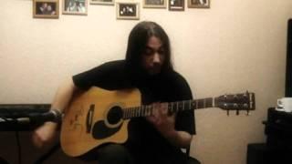 """В. Высоцкий """"Утренняя гимнастика"""" (для одной гитары)"""