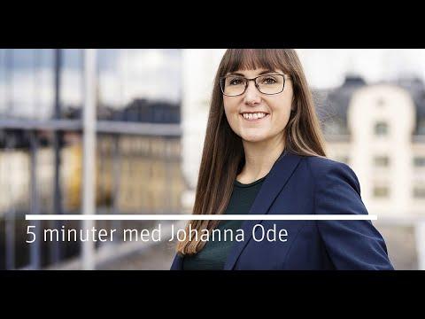 Debatt kring investeringsstödet - 5 minuter med Johanna Ode