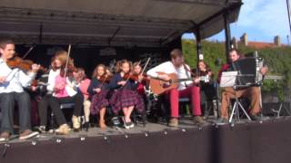 Ceili band 21 mai 2015 Festival Violons Chant du monde