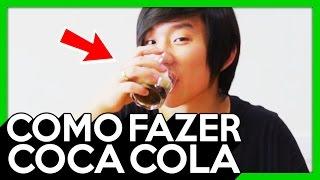 COMO FAZER COCA COLA EM 1 MINUTO ! - 258