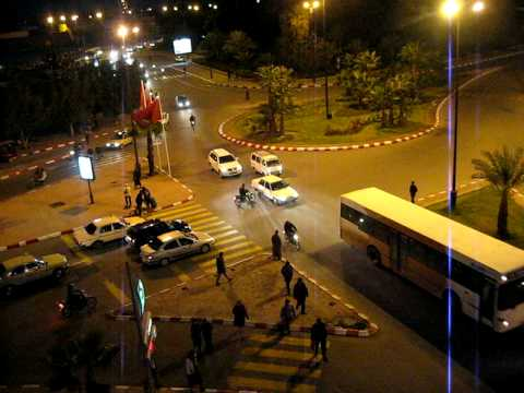 Traffic of marrakech