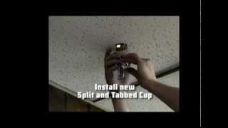 How To Replace Fire Sprinkler Escutcheons