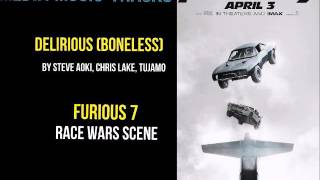 Steve Aoki, Chris Lake, Tujamo - Delirious Boneless (Furious 7 Race Wars)