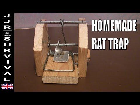 Homemade Rat Snap Trap