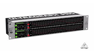 ULTRAGRAPH PRO FBQ3102 31-Band Stereo Graphic Equalizer with FBQ Feedback Detection System