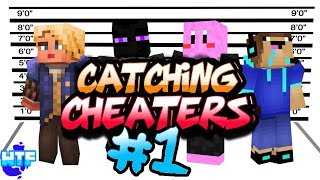 Minecraft PS4/PS3 RECKONING FACTIONS - CATCHING CHEATERS! [Ep.1] - WHY U DO DIS?!
