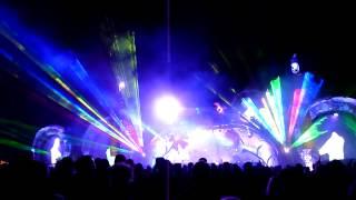 Summer Never Ends Festival 2013 Tristan Live lasershow