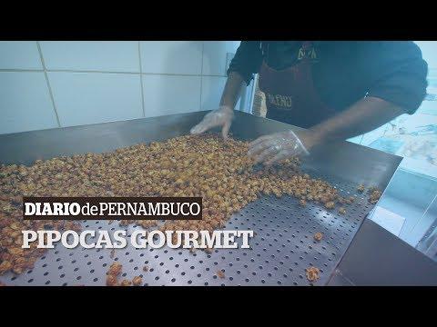 Conheça o processo de fabricação das pipocas gourmet