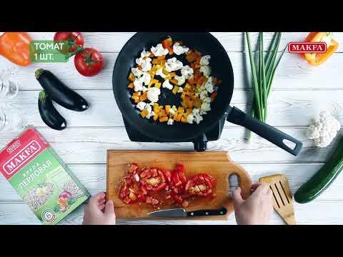 MAKFA | Мамины рецепты | Перловая каша с овощным рагу
