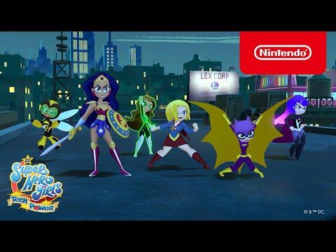 WTFF::: DC Super Hero Girls: Teen Power overview trailer