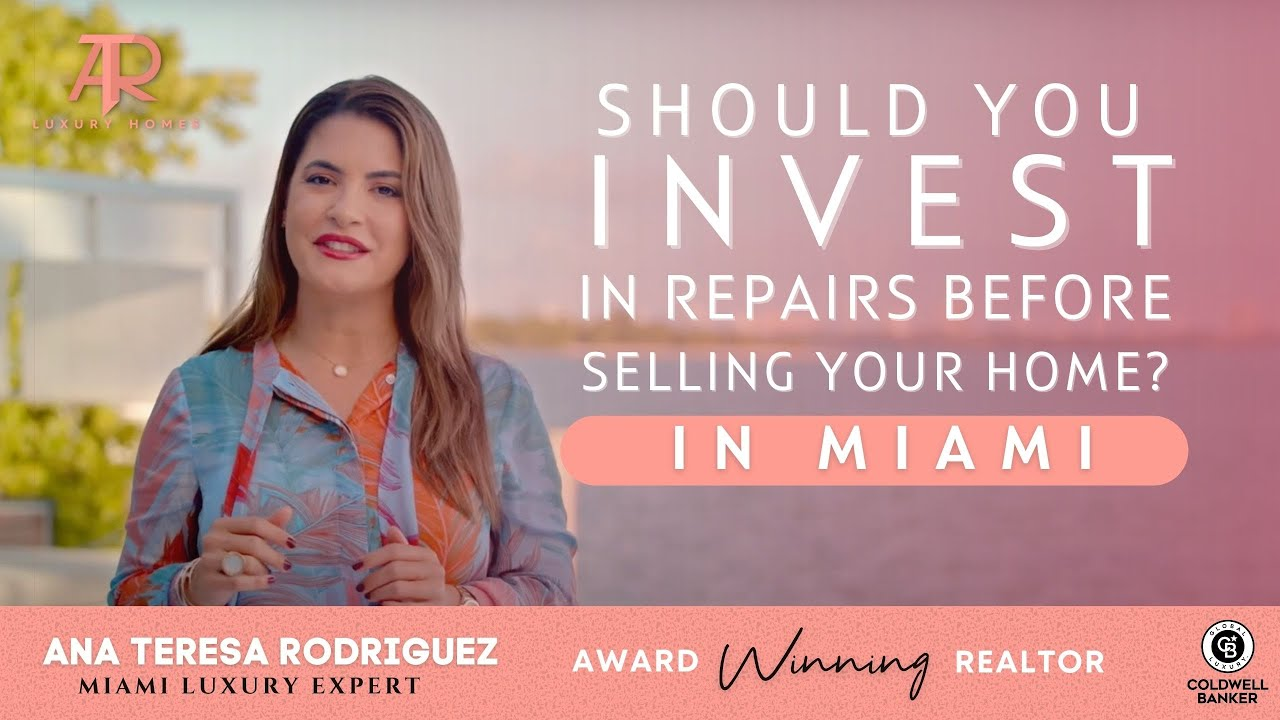 Should you invest in repairs or updates before selling your home? #Miami