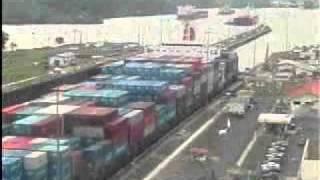 Canal dop Panama - Via liga Atlântico e Pacífico