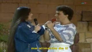 ME ALIMENTO DE TI (con letra) Daniela Romo & Manuel Mijares