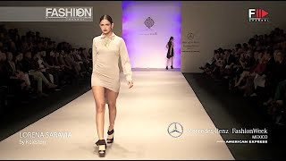 LORENA SARAVIA Spring Summer 2013 MBFW Mexico - Fashion Channel