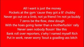 RICH CHIGGA X SKRILLEX X ZHU X THEY - WORKING FOR IT (LYRICS)(RAP SESSION)