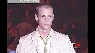 ROMEO GIGLI Spring Summer 2001 Menswear - Fashion Channel