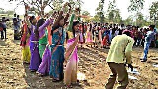 धीरी धीरी नाच छोरी घाघरो हमाल  Female Dance // आदिवासी गीत // अर्जुन आर Meda // आदिवासी नृत्य