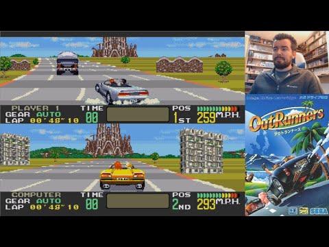 OUTRUNNERS (Megadrive / Genesis) - Gameplay en Español || MORRALLA CLÁSICA