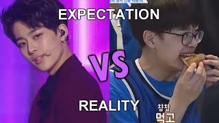 YOO SEONHO EXPECTATION VS REALITY