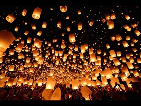 Rise Lantern Festival - YouTube