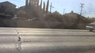Freeway falling car (YOU WON'T BELIEVE)
