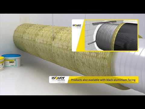ISOVER ULTIMATE U Protect: Fire safety without compromise. Solutions for circular metal ducts