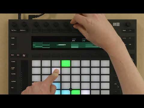 Learn Push 2: Step sequencing beats