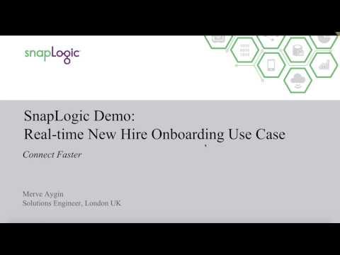 SnapLogic Demo: New Hire Onboarding