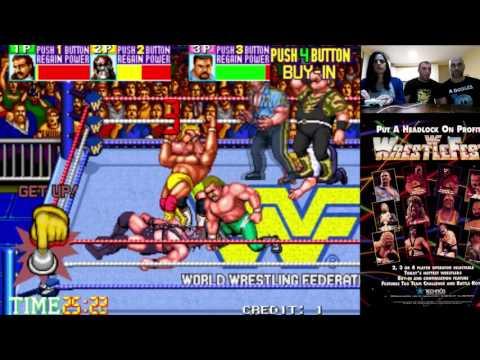 WWF WrestleFest // Arcade // RETRO