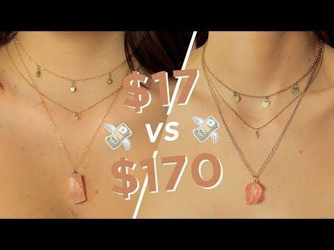 MAKING THE SAME JEWELRY: $17 vs $170 ? ?