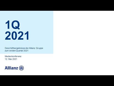 Geschäftsergebnisse der Allianz Gruppe zum ersten Quartal 2021