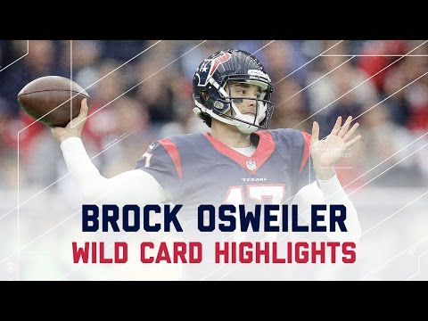 Brock Osweiler's 2 TD Game Leads Texans to Win vs. Raiders | NFL Wild Card Player Highlights