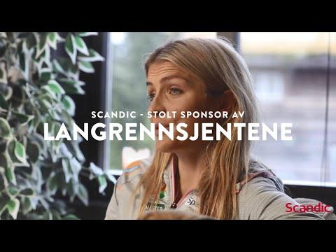 #VærDegSelv med Therese Johaug og Scandic Hotels