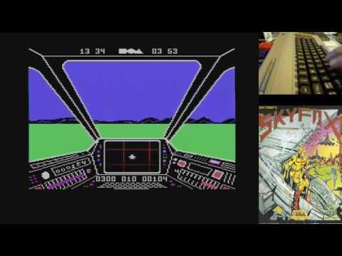 Skyfox - Serie de Juegos Épicos en Commodore 64 real