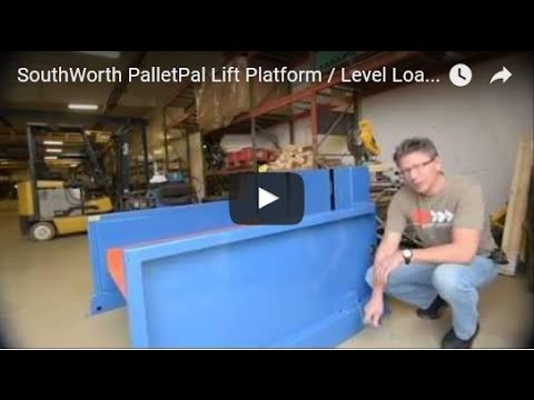 SouthWorth PalletPal Lift Platform / Level Loader