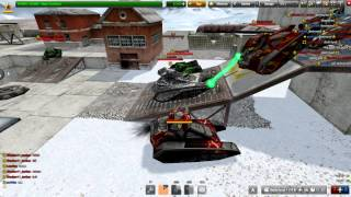 Tanki Online Helping a friend for a gold box