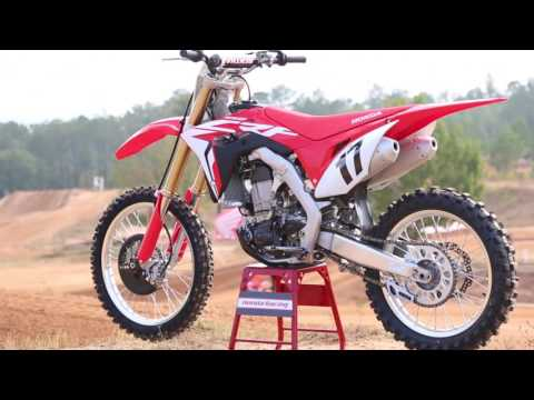 2017 Honda CRF450R First Ride - Cycle News