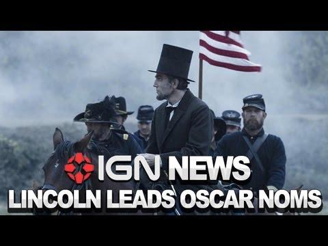 IGN News - Lincoln Dominates Oscar Nominations