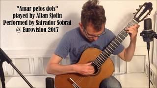 Amar pelos dois - played by Allan Sjølin // ESC Winner 2017 // Sheet music in description